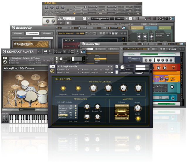Infrasonic UAX2 (софт: Native Instruments KOMPLETE ELEMENTS)