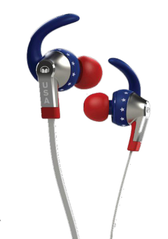 Наушники Monster iSport USA