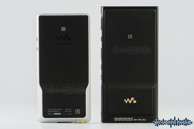 SONY WALKMAN NW-ZX2, SONY WALKMAN NW-ZX1