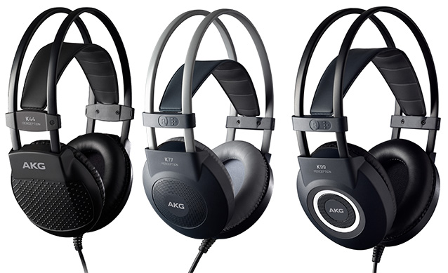 Наушники AKG Perception K44 , K77 и K99
