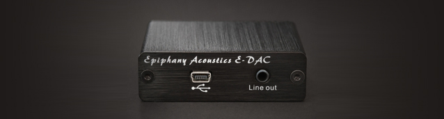 Миниатюрный USB-ЦАП The Epiphany Acoustics E-DAC