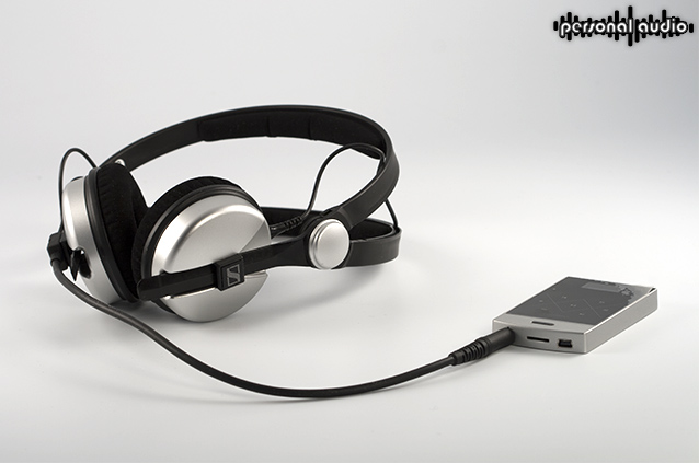 Плеер Colorful Colorfly C3 и наушники Sennheiser Amperior