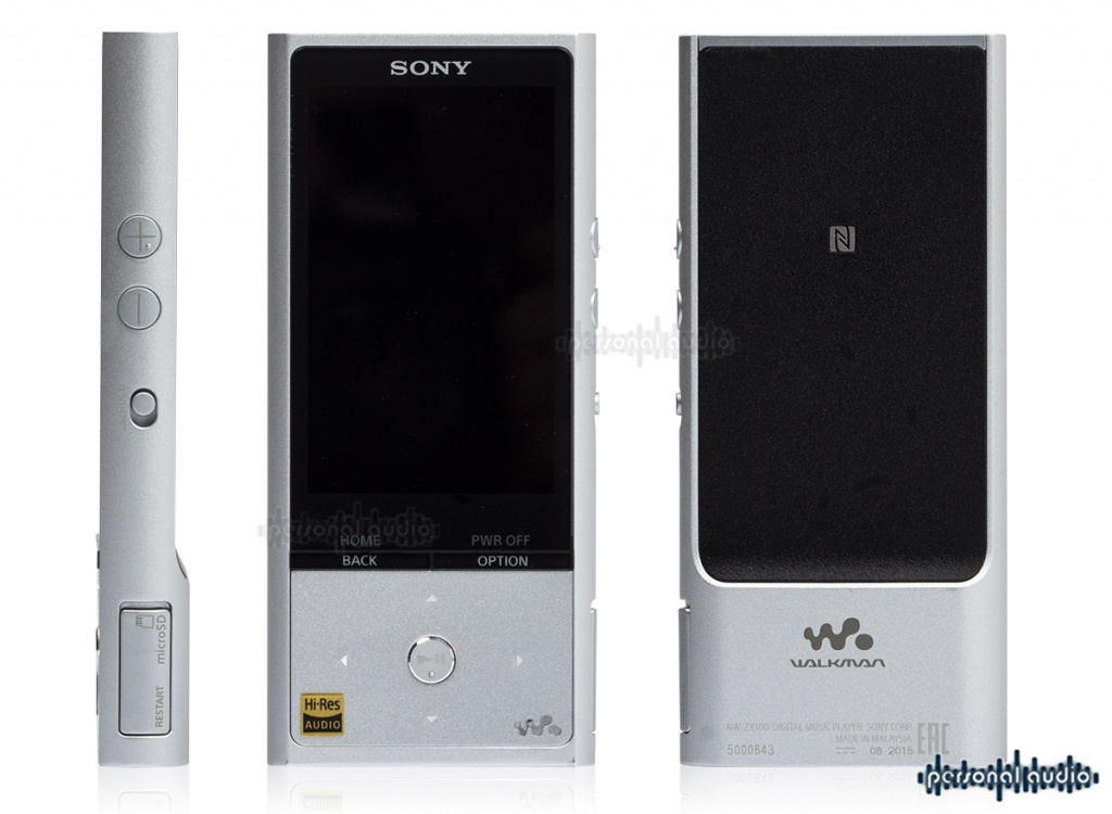 SONY NW-ZX100