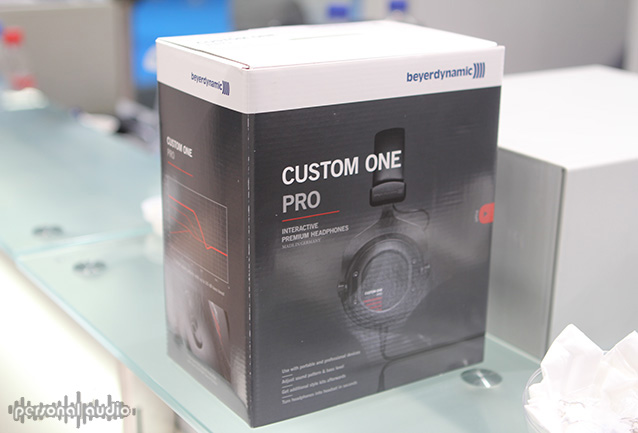Коробка от Beyerdynamic Custome One Pro