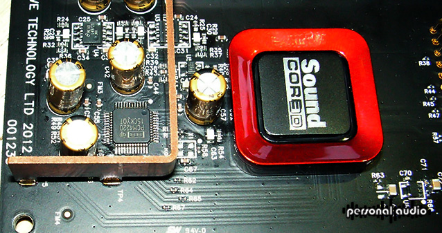 Sound Blaster ADC ADC PCM 4220 daughter board inside