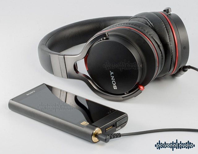 SONY NW ZX2 + SONY MDR-1R