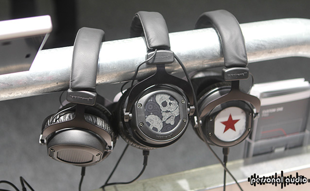 Наушники Beyerdynamic Custome One Pro на выставке