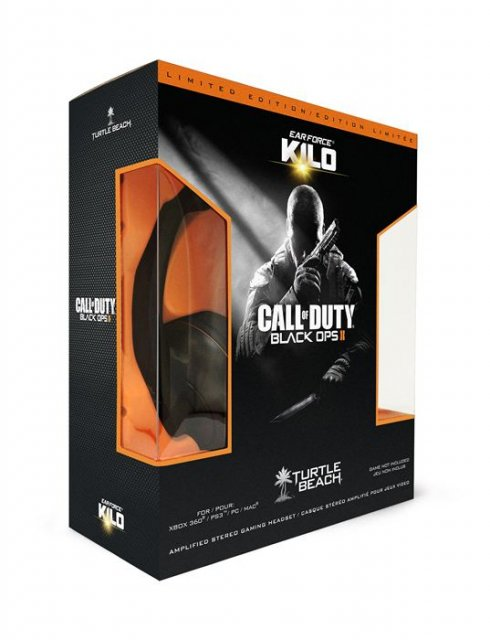 Гарнитура для игр Turtle Beach Ear Force Black Ops II Kilo