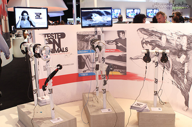 Наушники Philips O'Neil на IFA 2012