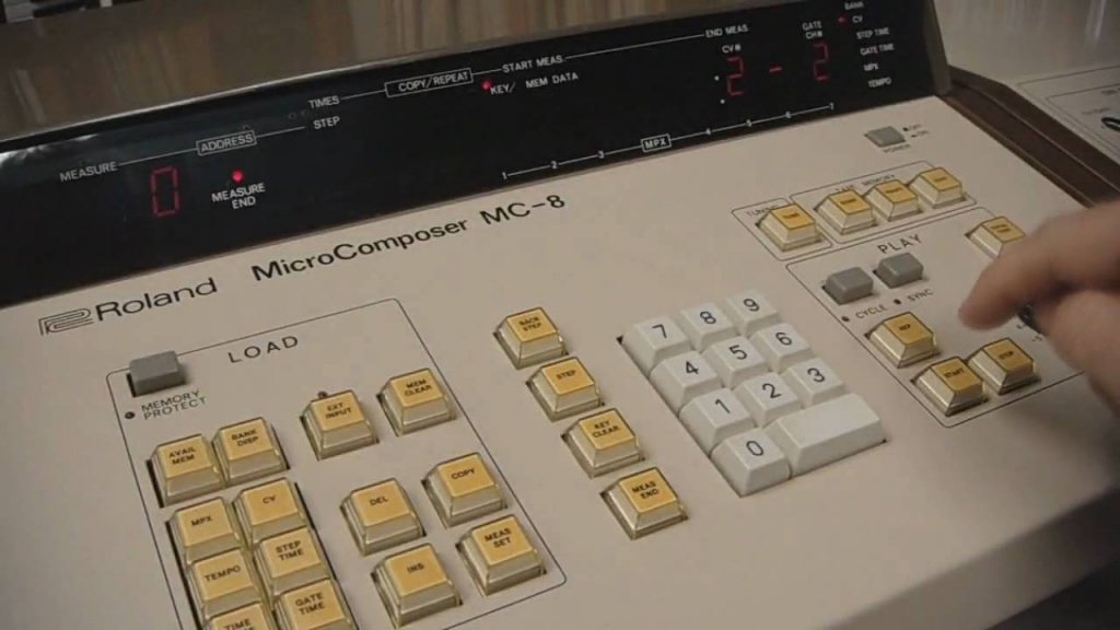 Roland MC-8 Microcomposer